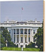 The Whitehouse - Washington Dc Wood Print