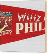 The Whiz Kids Wood Print