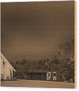 The Wild West  Wood Print