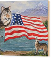 The Wildlife Freedom Collection 1 Wood Print