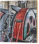 The Winding Engine Wood Print