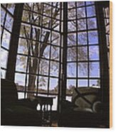 The Window Seat Wood Print