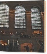 The Windows At Grand Central Terminal Wood Print