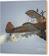 The Wing Walker  Wood Print