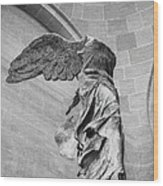 The Winged Victory Wood Print by Patricia Hofmeester