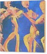 The Winner Wood Print