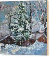 The Winter Wood Print