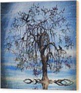 The Wishing Tree Wood Print