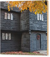 The Witch House Wood Print