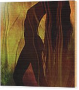 The Witches Dance... Wood Print