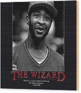 The Wizard Ozzie Smith Wood Print