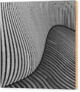 The Wood Project I - Tangled Wood Wood Print