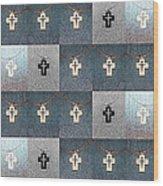 The Wooden Cross Wood Print