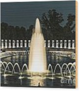 The World War II Memorial Wood Print
