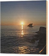 The Wreck Of The Atlantus - Cape May New Jersey Wood Print