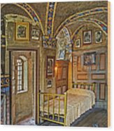 The Yellow Room At Fonthill Castle Wood Print