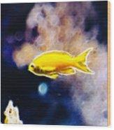 The Yellow Submarine Wood Print