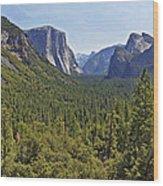 The Yosemite Valley Wood Print