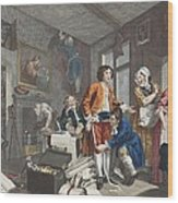 The Young Heir Takes Possession Wood Print