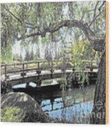 The Zen Bridge Wood Print