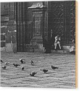 The Zocolo Mexico City Mexico 1970 Wood Print