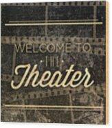 Theater Wood Print