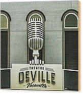 Theatre Deville Wood Print
