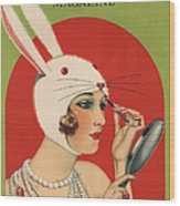 Theatre Magazine 1924 1920s Usa Wood Print by The Advertising Archives
