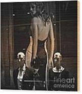 Theatre Manikins-0014 Wood Print
