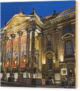 Theatre Royal Wood Print