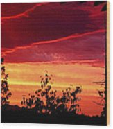 Thee Sunset Of Summer 2014 Wood Print