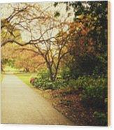 Then Autumn Arrives 04 Wood Print