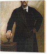 Theodore Roosevelt Wood Print