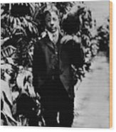 Theodore Roosevelt, Jr Wood Print