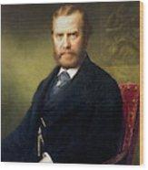 Theodore Roosevelt, Sr Wood Print