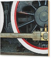 They Drive The Wheels Wood Print