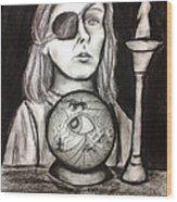 Third Eye Wood Print