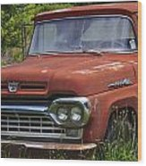 Third Generation Ford F 350 Wood Print by Robert J Andler