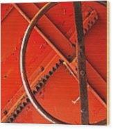 Third Wheel Wood Print