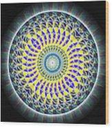 Thirteen Stage Alchemy Kaleidoscope Wood Print by Derek Gedney