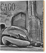 This Is Chicago Wood Print