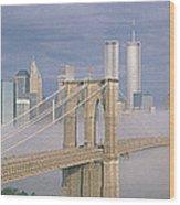 This Is The Brooklyn Bridge Wood Print