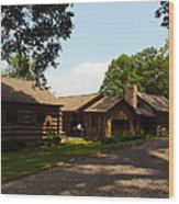 This Is The Cabin Wood Print