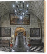 This Is The Philippines No.89 - San Agustin Church Bell Wood Print by Paul W Sharpe Aka Wizard of Wonders