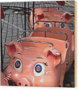 This Little Piggy Went To Market Wood Print