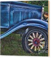 This Old Car Wood Print
