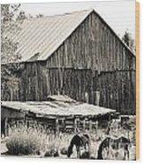 This Old Farm Wood Print
