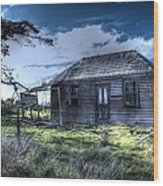 This Old House .......... Wood Print