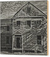 This Old House 3 Wood Print