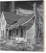 This Old House Wood Print